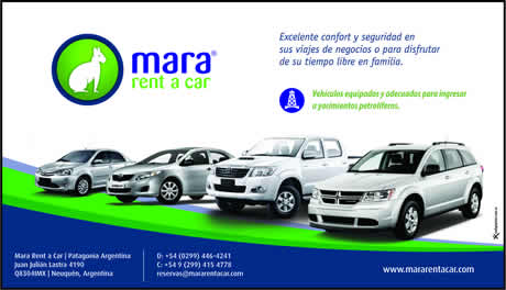 Mara Rent a Car - Alquiler de autos y pick-up en Neuquén